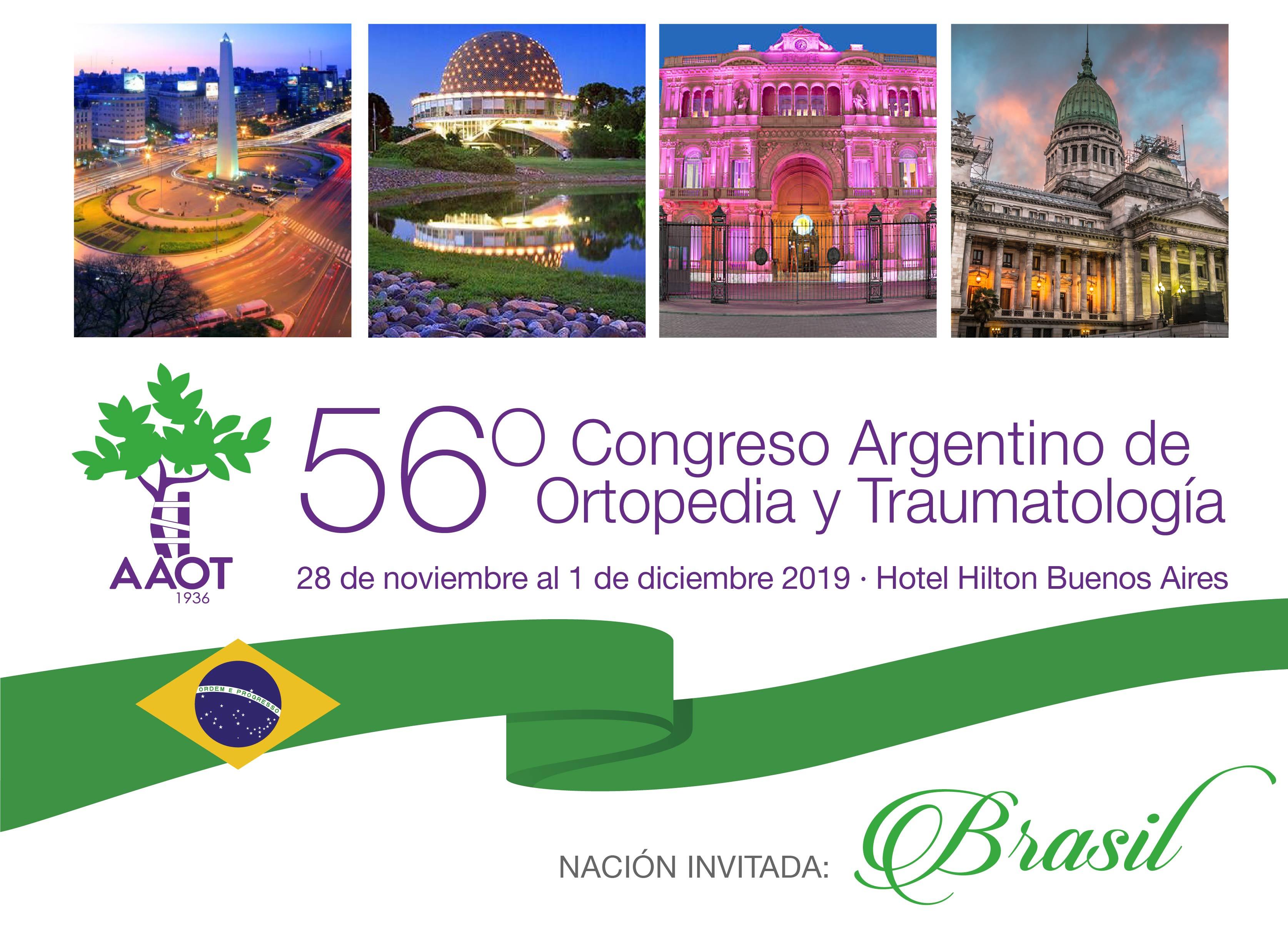 56º Congreso Argentino de Ortopedia y Traumatología