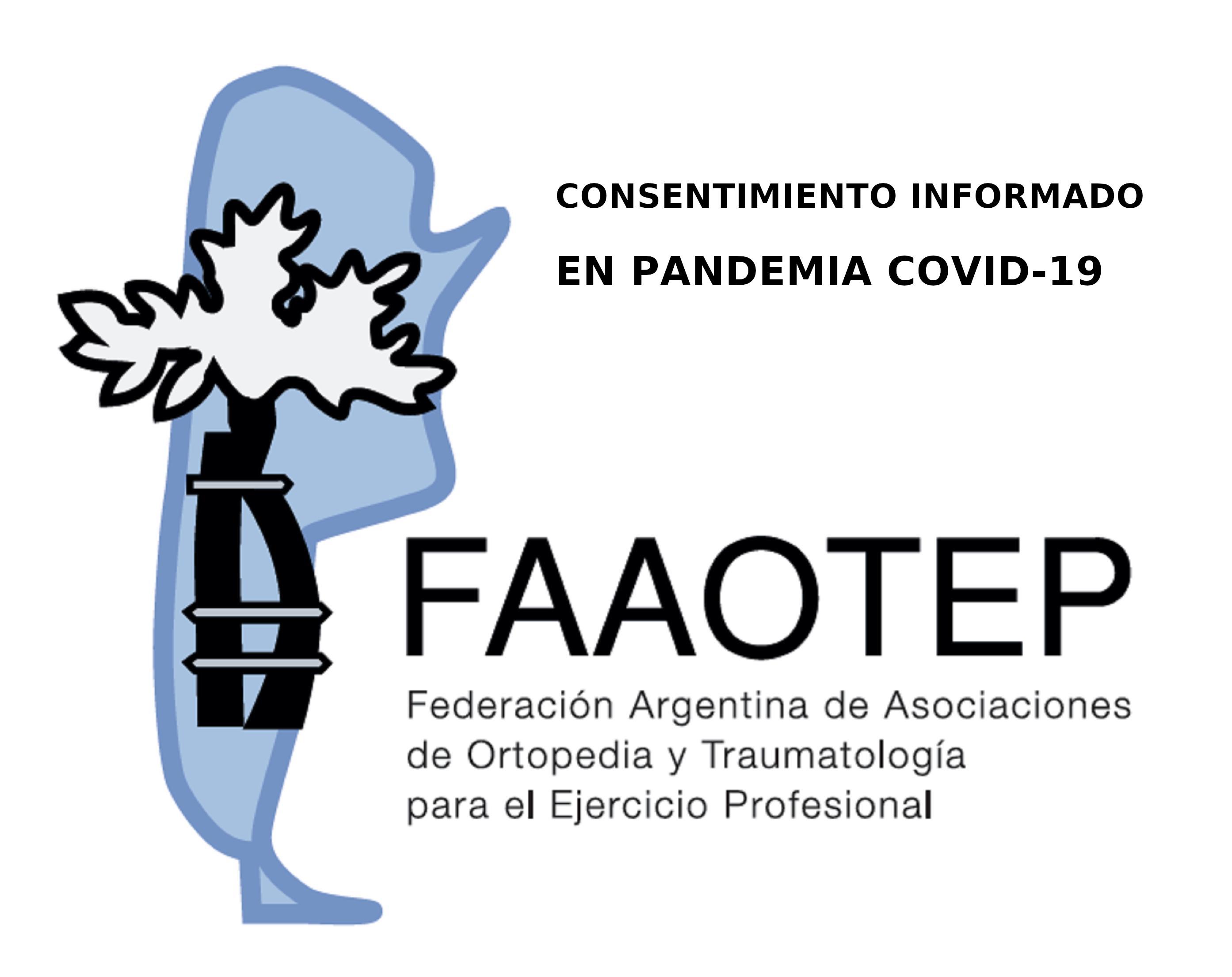 CONSENTIMIENTO INFORMADO EN PANDEMIA COVID-19